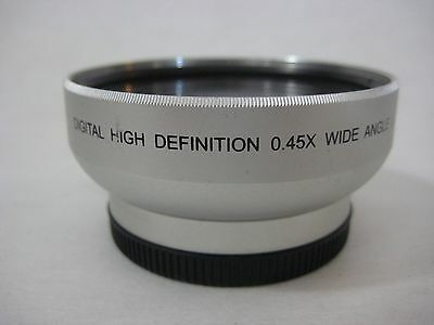 Digital Concepts Digital High Definition 0.45x Wide Angle Lens With Macro