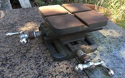 Rare Vintage Cross Motion Milling Table