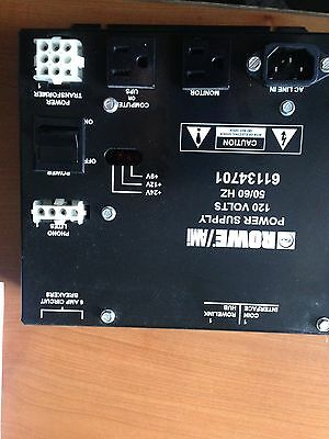 Rowe AMI POWER SUPPLY 120 VOLTS Pulled from a Saturn Cd jukebox----Free shipping