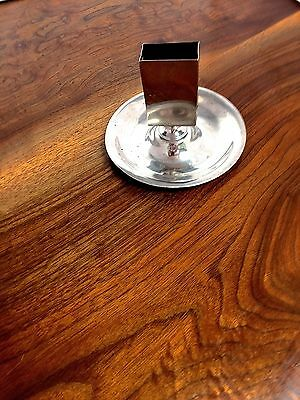 Shreve Crump & Low Sterling Silver Matchbox Stand & Ash Tray No Monogram Boston