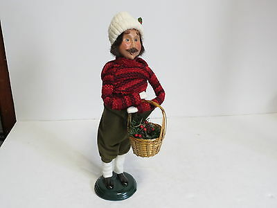 """* Vintage 1999 Byers Choice The Carolers 13 3/4"""" Figure *"""