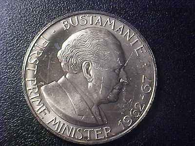 1975 Jamaica One Dollar - Bustamante - Choice Bu Proof-Like - R107Szz2