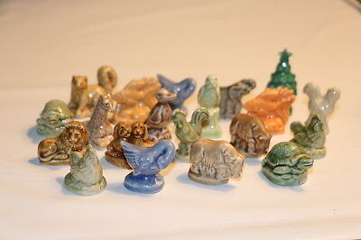 Large Lot of 20 Wade Red Rose Tea Figurines - Mixed Animals and Colors - Cute!