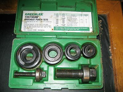 Greenlee 735/735BB* Knockout Punch Set Complete