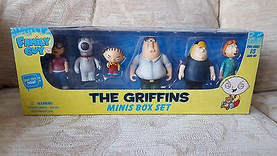Family Guy Official The Griffins Mini Figures Box Set