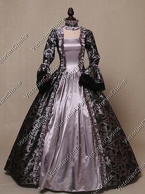 Renaissance Medieval Wiccan Enchantress Dress Witch Adult Halloween Costume 119