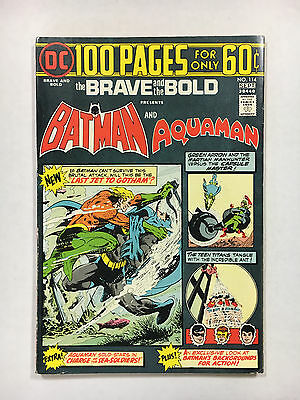 Brave and the Bold #114 VF  DC comic Batman 1974 100  pages