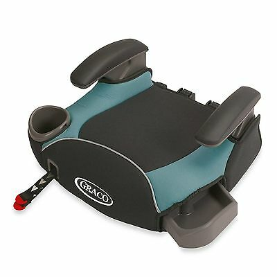 Graco AFFIX Toddler Backless Booster Seat with Cup Holder & Latch System, Sailor