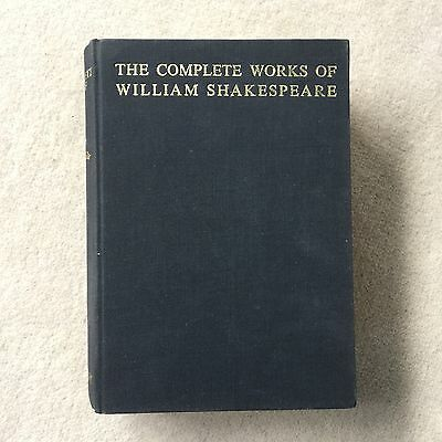 Vintage The Complete Works Of William Shakespeare - Abbey Library- Circa 1960s