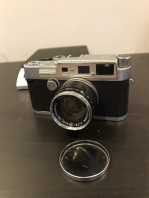 Yashica YF 35mm Camera With Lens