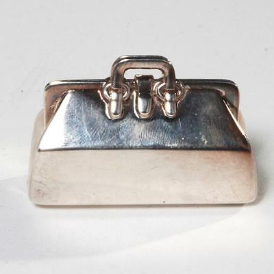 Tiffany & Co Sterling Silver Doctor's Bag Pill Box