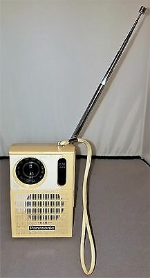 Vintage Panasonic AM-FM Transistor Radio RF-508 WORKS,FREE SHIPPING