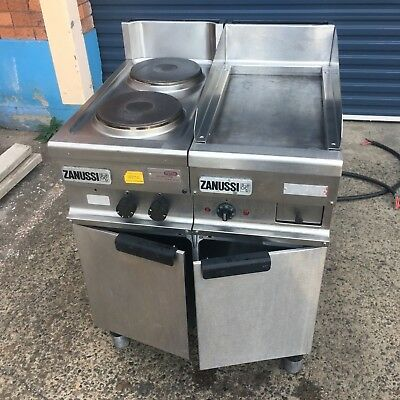 Zanussi 189100 Electric 2 Burner Stove and Griddle