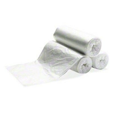 Industrial-Strength 60 Gallon Trash Bags, 38x60 Clear Garbage Bags (200)
