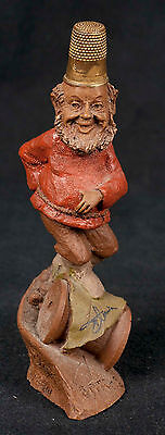 Tom Clark Thimble People Stitch #5060 Sewing Gnome Cairn Retired