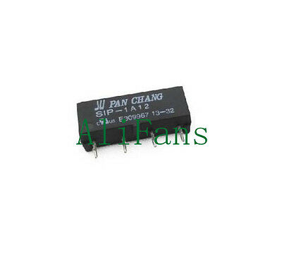 1 pcs 12V Relay SIP-1A12 Reed Switch Relay 4PIN for PAN CHANG Relay TOP