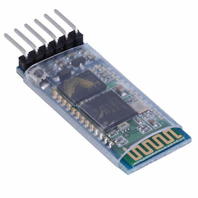 HC-05 6 Pin Wireless Bluetooth RF Transceiver Module Serial RS232 For Arduino
