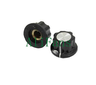 2PCS 16mm Top Rotary Control Turning Knob for Hole 6mm Dia. Shaft Potentiome​ter