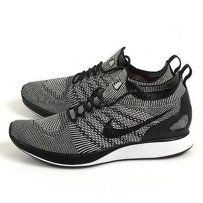 half off ab853 815a2 Nike Air Zoom Mariah Flyknit Racer Pale Grey/Black-Solar Red Running 918264-
