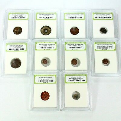 10 Coin Ancient Collection. Complete - 10 Different Ancient Coins