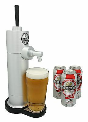 New Beer Tap Stylish Draught Pump Dispenser Canned Drinks Bar UK Fast Delivery