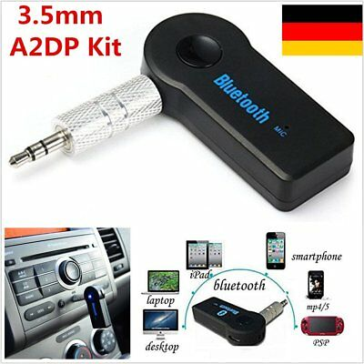 Car Audio Telefon USB Aux Adapter Bluetooth Musik Receiver 3.5mm A2DP Wireless