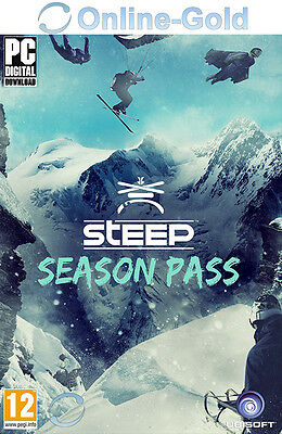 Steep Season Pass Key - Uplay Ubisoft Download Code - PC Addon DLC [DE][EU]