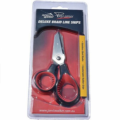 Jarvis Walker Deluxe Braid Snip Scissors for Fishing Line Tackle Cutting Snips