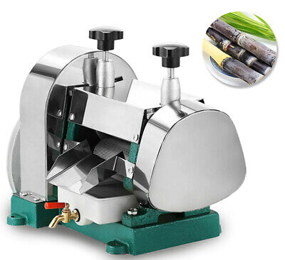NEW! Manual Sugarcane Juicer Sugarcane Extractor and Squeezer & StaInless Steel