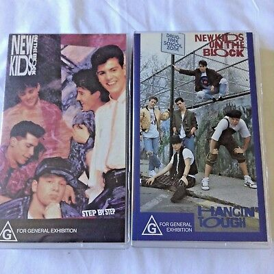 2 New Kids On The Block Vhs Videos