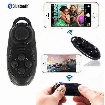 Wireless Bluetooth Gamepad Selfie Shutter Controller Remote for IOS Android VR