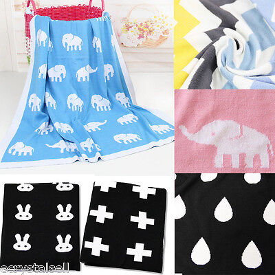 SWADDLE WRAP BLANKET NEWBORN BABY INFANT PRAM DUVET SLEEPING BAG 102*76cm