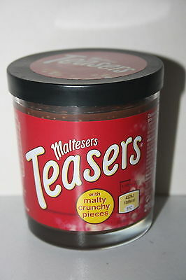UK Maltesers Spread Teasers with Malty Crunchy Pieces 200g Jar