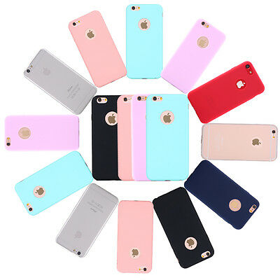 For Apple iPhone 6s Case Gel Rubber Silicone TPU Bumper Cover iPhone 7 Plus Case