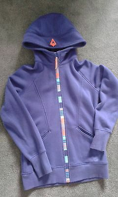 Ivivva by lululemon, girls lilac Hoodie, Size 14, excellent condition