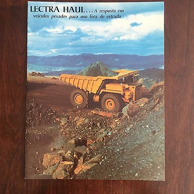 UNIT RIG Lectra Haul Trucks - General Company Brochure - Vintage Spanish 1980s