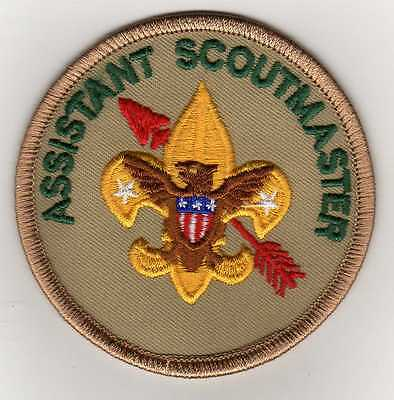 """OA Assistant Scoutmaster Position Patch, """"Since 1910"""" Backing, Mint!"""