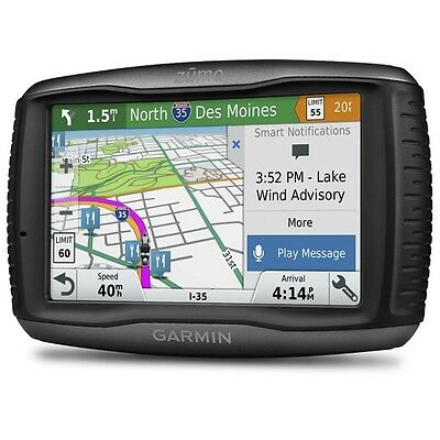 GARMIN ZUMO 595 LM EU UK Lifetime Maps Motorcycle Biker Sat Nav Navigation