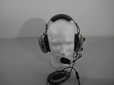 David Clark Refurbished Aviation Headset H10-40 with Volume Control