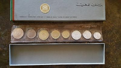 1965 Moroccan Proof Like 8 Coin  Set