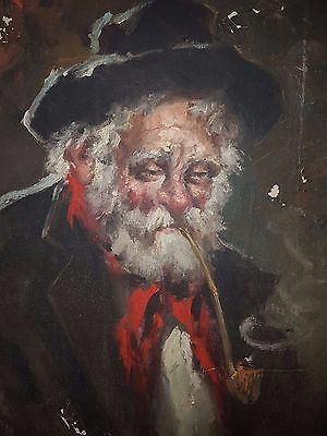 "RARE Antique Vintage 18TH-19TH CENTURY LARGE OIL PAINTING BY Favretto  28""x20"""