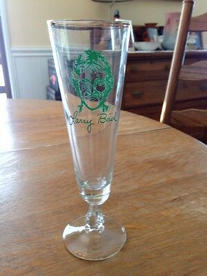 Larry Bird 1986 Boys Club Golf Classic 8.5 Inch Glass.