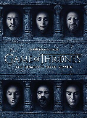 GAME OF THRONES: Season 6 The Complete Sixth Season DVD Region 2 UK Free Postage