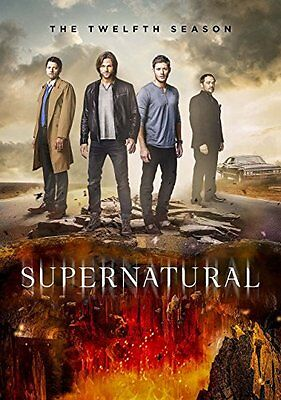 SUPERNATURAL: Season 12 * Brand New and Sealed * DVD Box Set * Free Postage