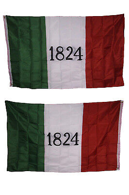 3x5 1824 Alamo Historical 2 Faced Double Sided 2-ply Polyester Flag