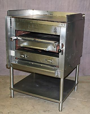 "Montague 36"" Legend Heavy-Duty Gas Infrared Broiler w/Top Sear Plate"