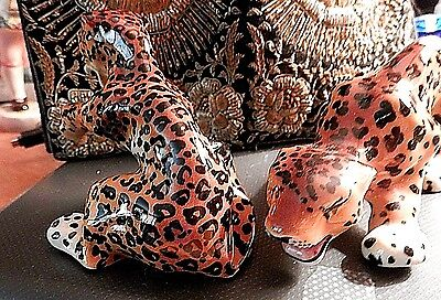 Ceramic Arts Studio, Leopards . Near Mint.