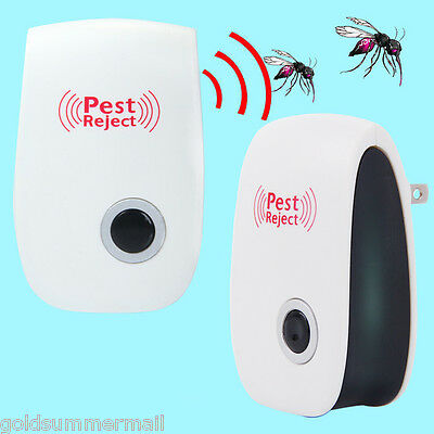 Ultrasonic Mouse Pest Repeller Mosquito Insect Cockroach Electronic Rejector