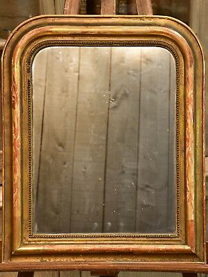 Rustic Louis Philippe mirror antique French mirror