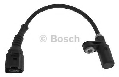 AUDI A3 8L 1.9D ABS Sensor Rear 00 to 03 ASZ Wheel Speed Bosch 1J0927807D New